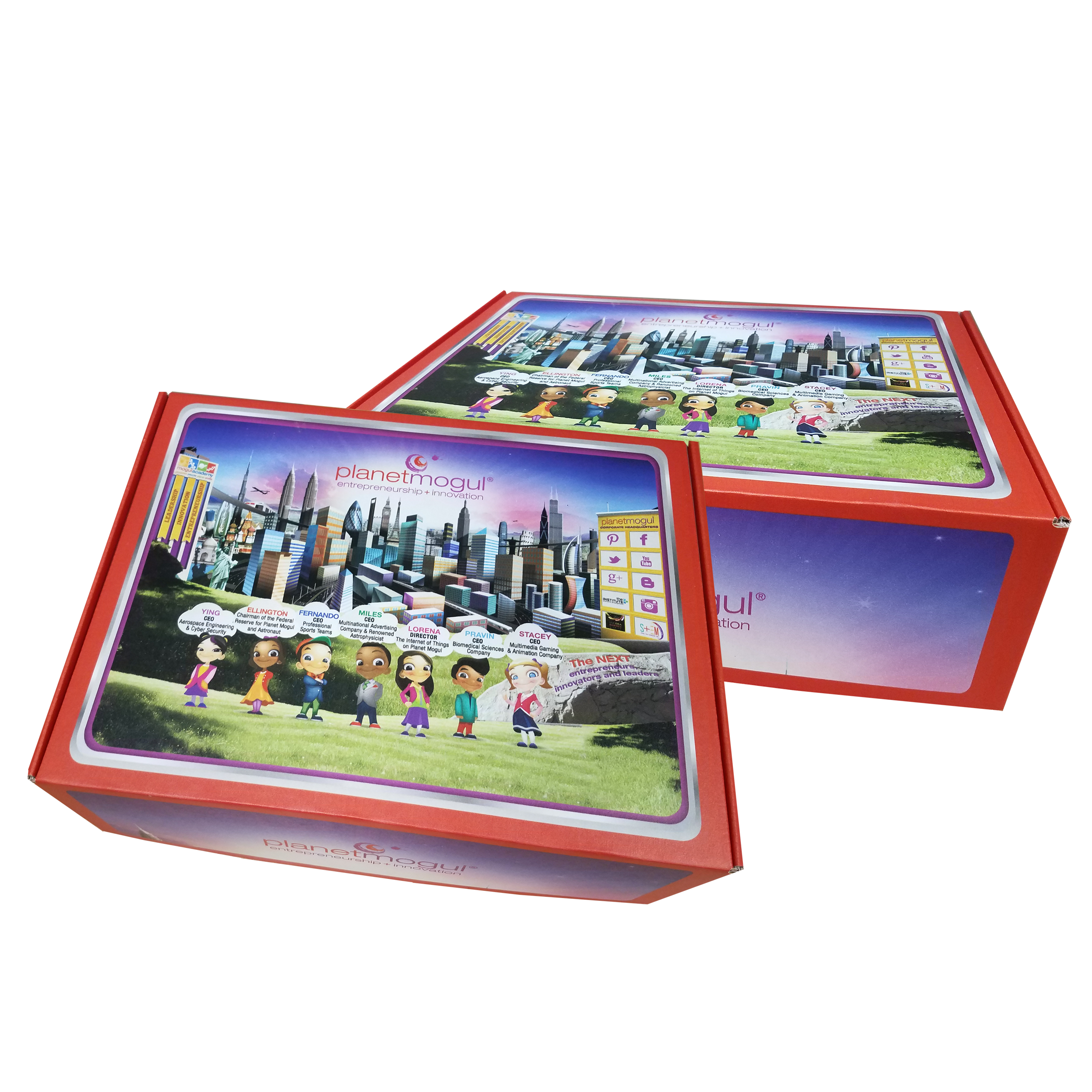 Planet Mogul CAMP Package Boxes